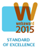 Web Marketing Association's WebAward 2015 - Standard of Excellence Award